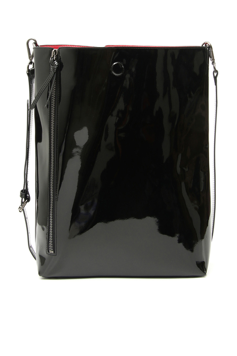 Patent leather shopper bag Intrend