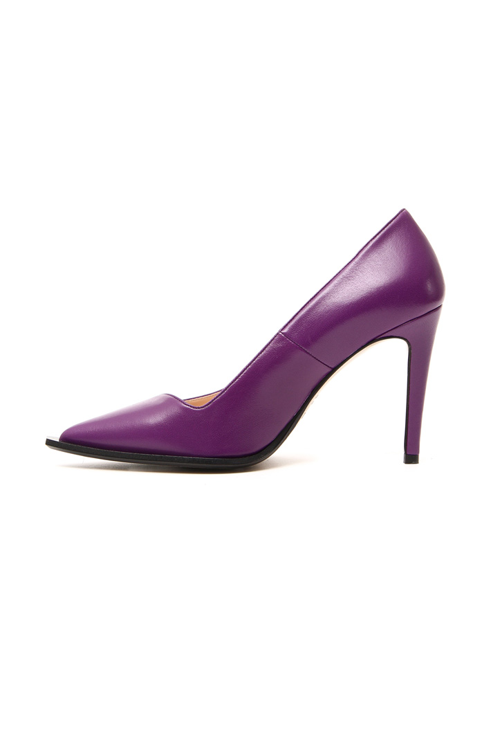 Leather court shoes Intrend