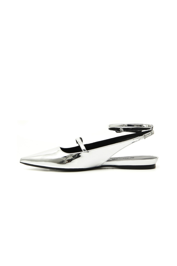 Mirror-effect slingback Intrend