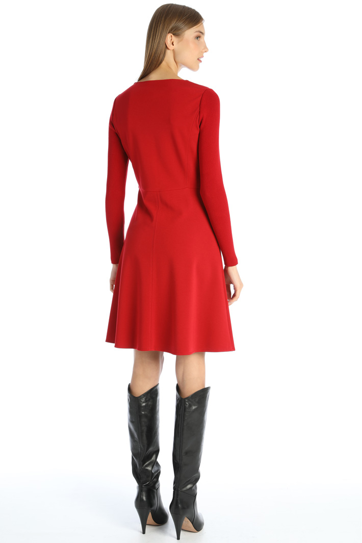 Compact jersey dress Intrend
