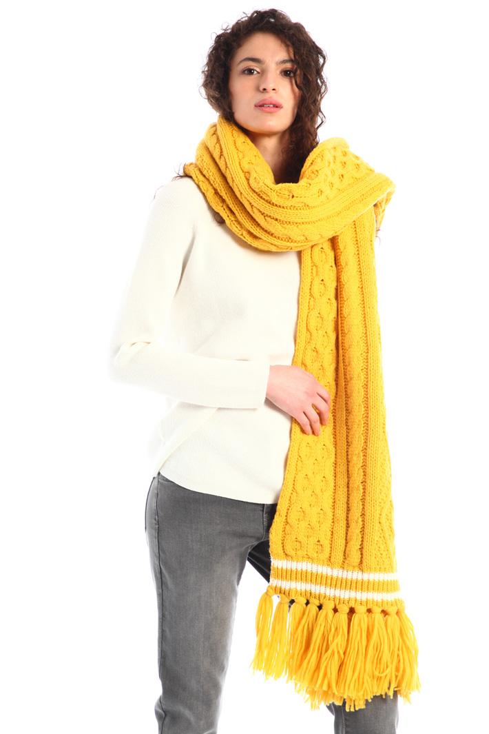 Braided maxi scarf Intrend