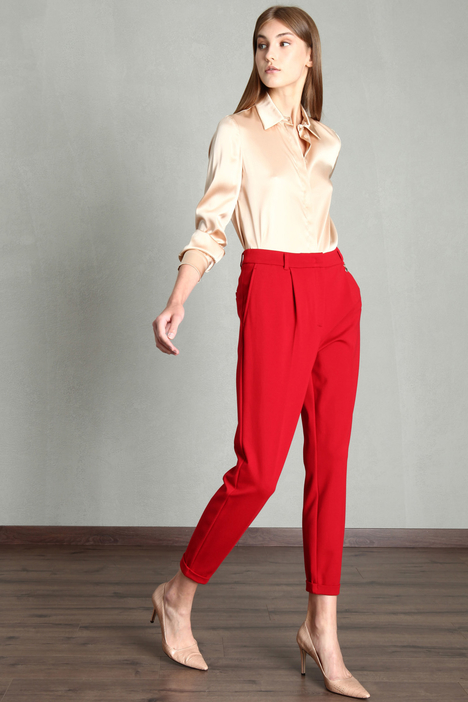 Jersey carrot trousers Intrend