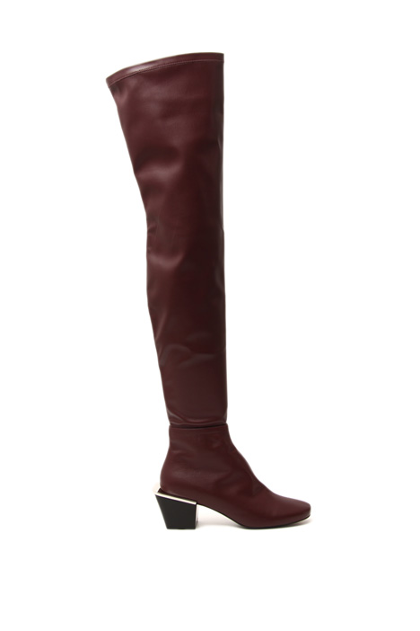 Nappa effect high boots Intrend