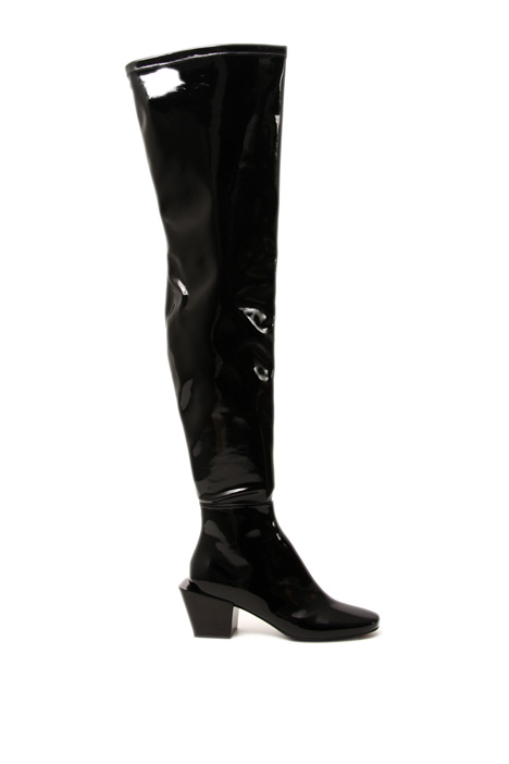 High varnished boots Intrend