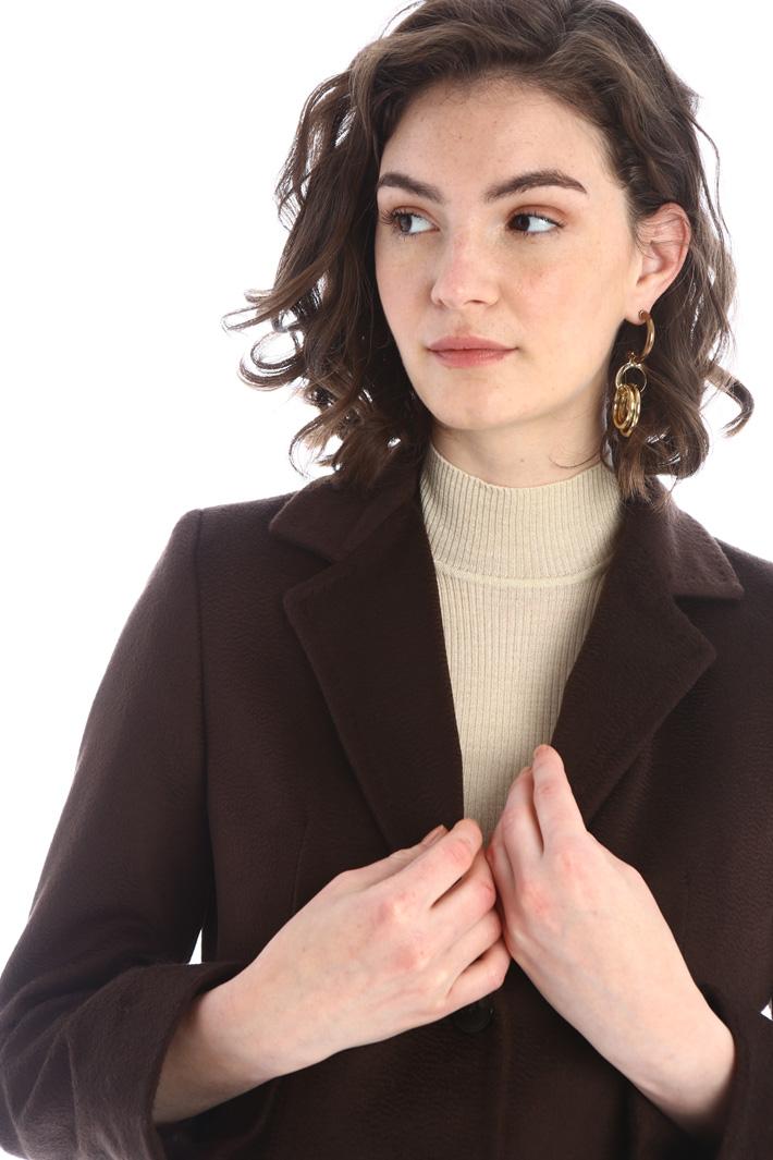 Cappotto in drap di lana Intrend