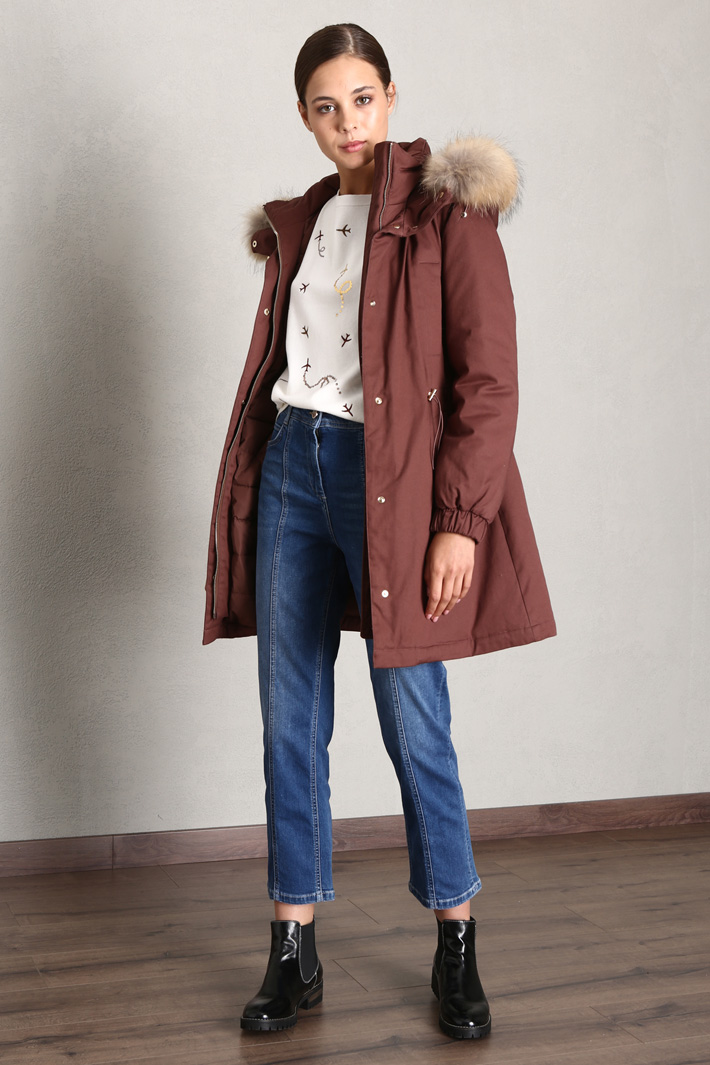 Padded parka Intrend