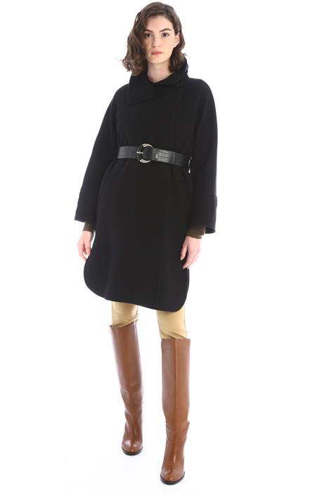 Cappotto con gilet e cintura Intrend