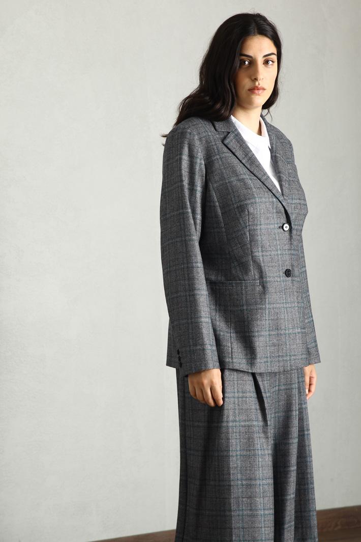 Wool flannel blazer Intrend