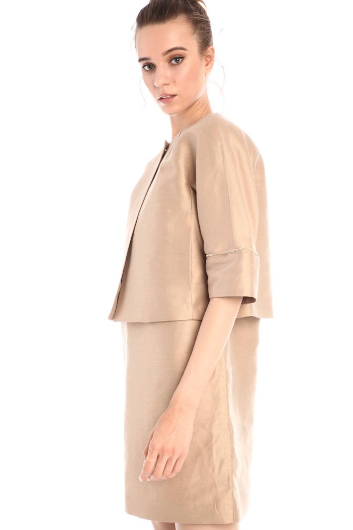 Shantung jacket Intrend