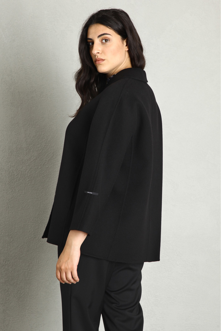Wool and cashmere pea coat Intrend