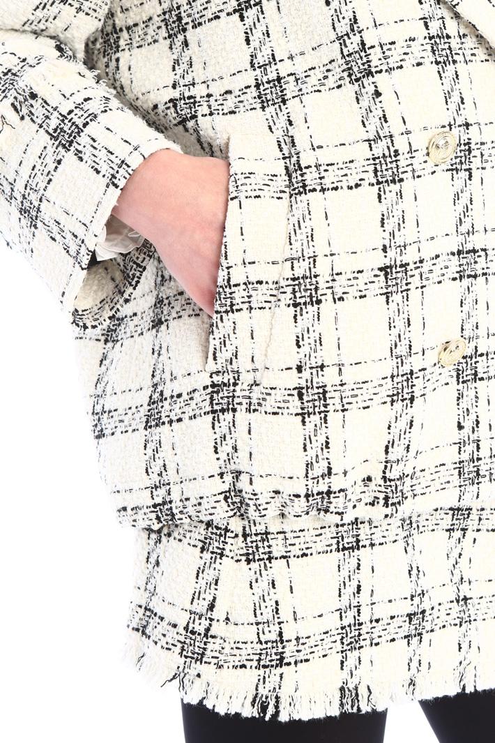 Caban in tweed Intrend