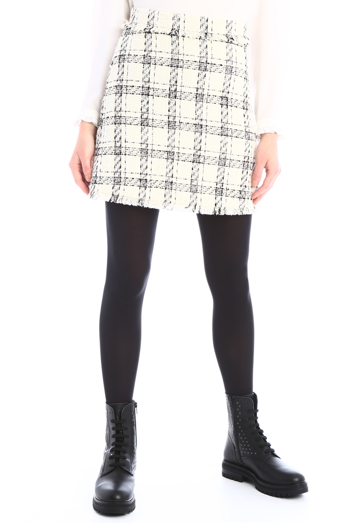A-line tweed skirt Intrend