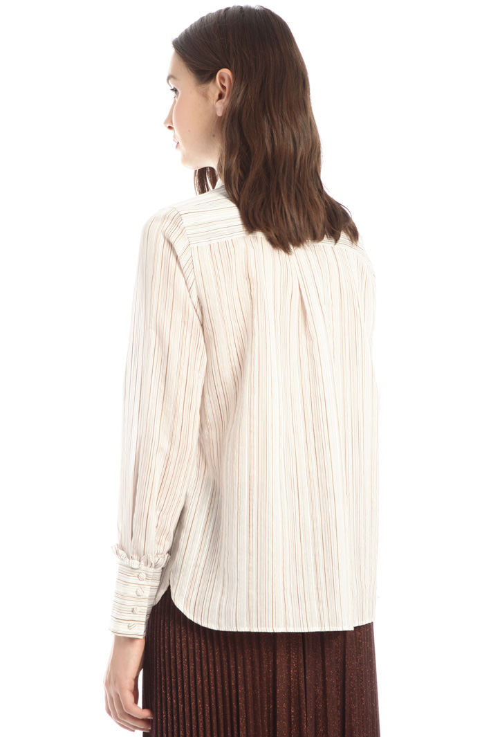 Lurex cotton shirt Intrend