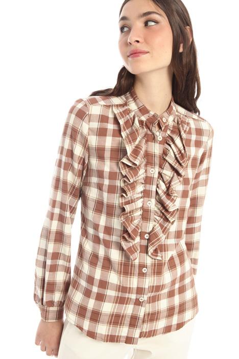 Front ruffle shirt Intrend