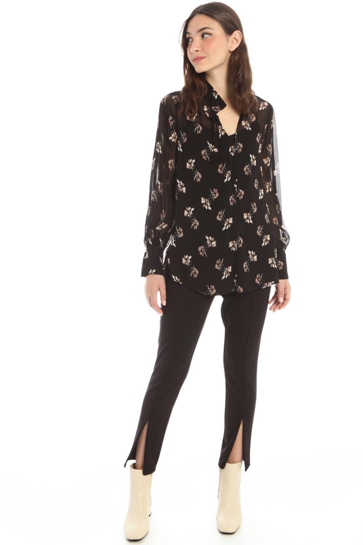 Viscose georgette blouse Intrend