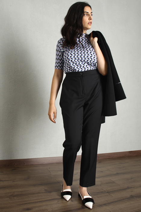 Straight wool trousers Intrend