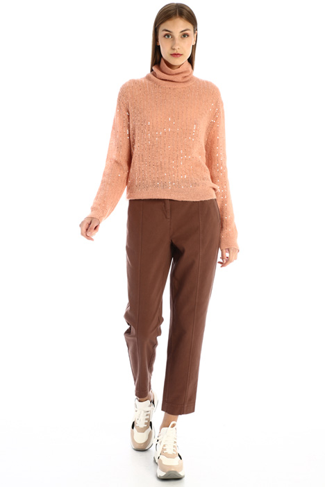 Straight cotton trousers Intrend