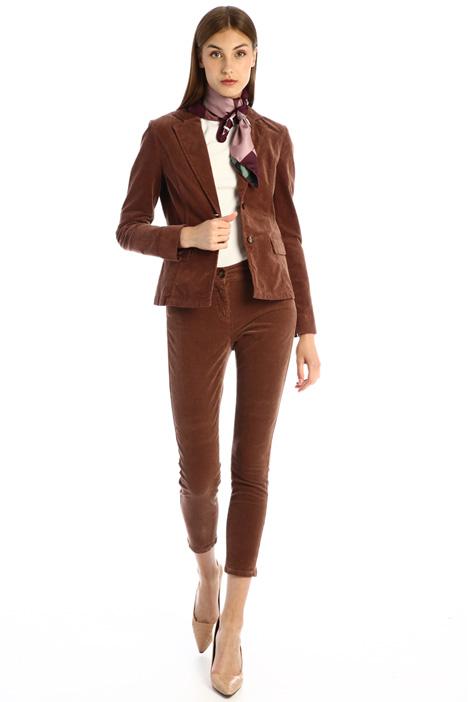 Velvet skinny trousers Intrend