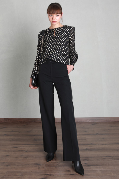 Tech fabric trousers Intrend
