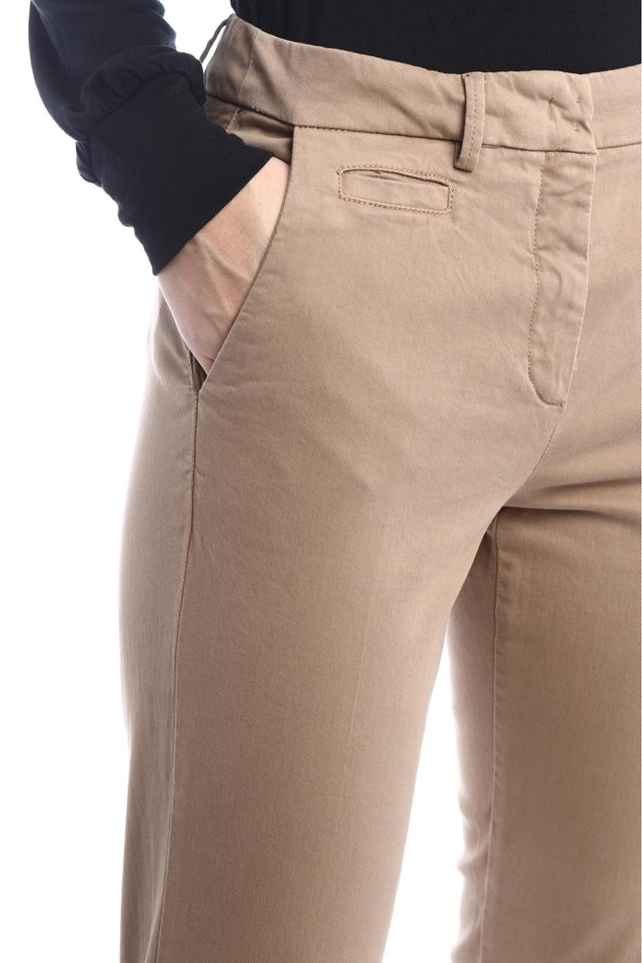 Cigarette gabardine trousers Intrend