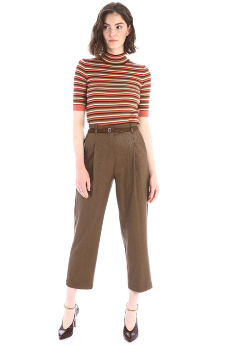 Straight flannel trousers Intrend