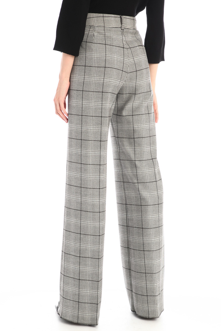 Yarn dyed trousers Intrend