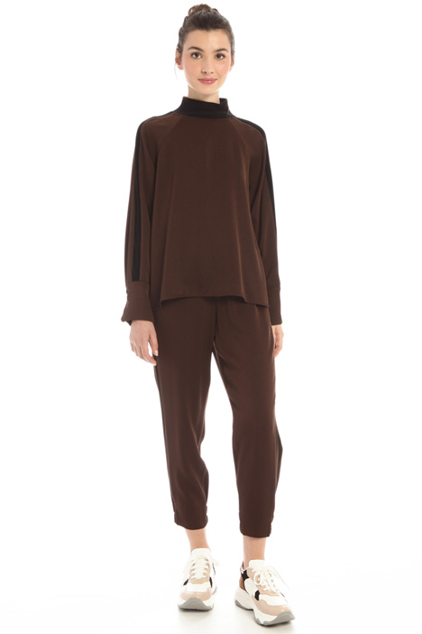 Satin jogging trousers Intrend