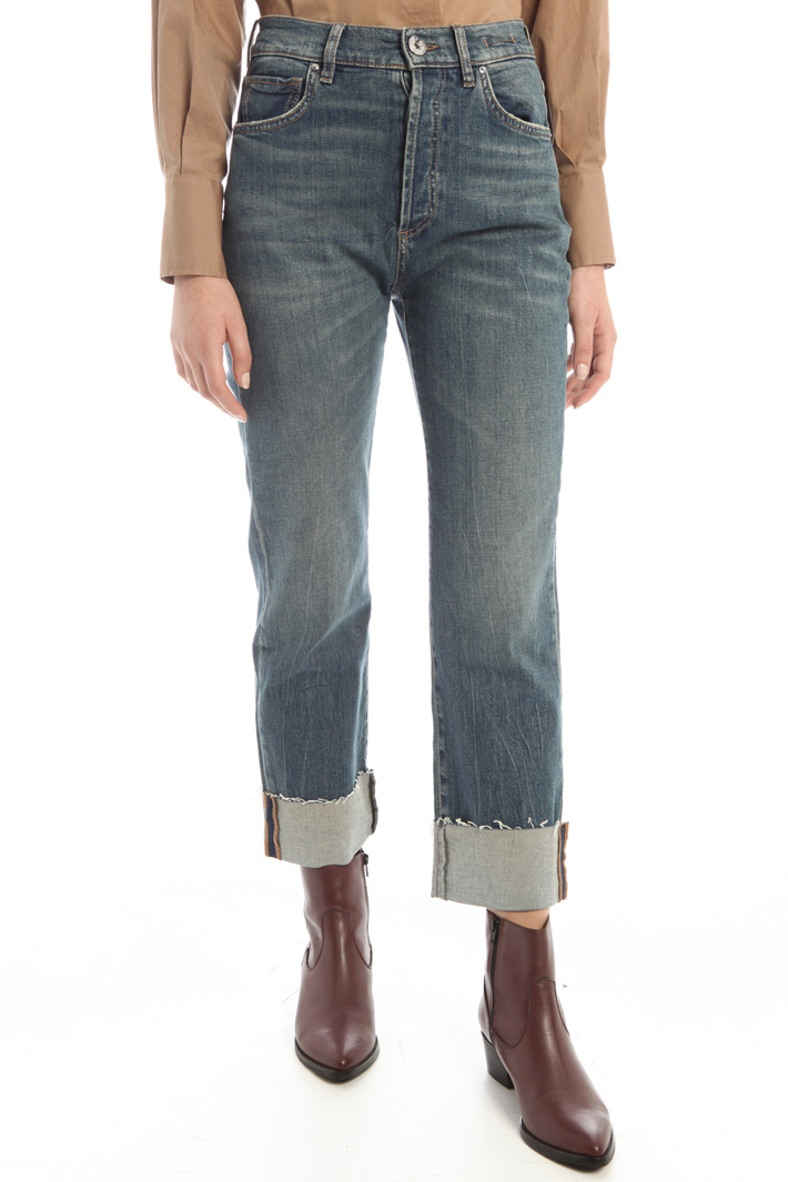 Turn-up jeans Intrend