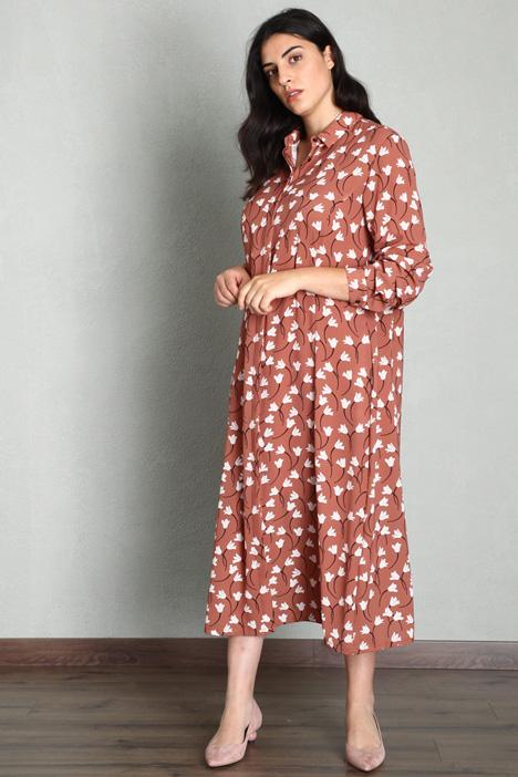 Printed shirt dress Intrend