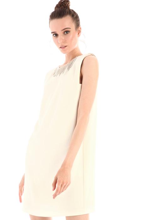 Rhinestone-detailed dress Intrend