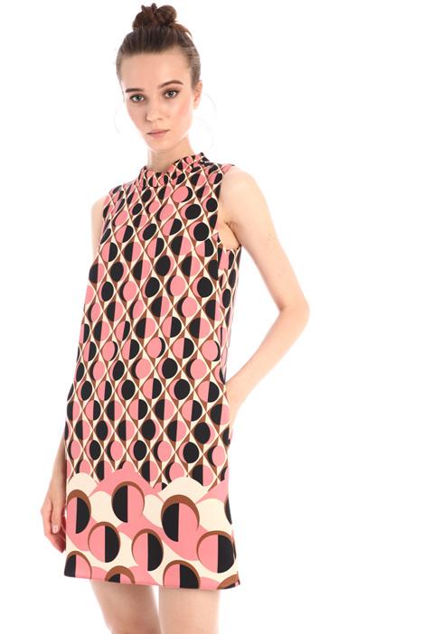 A-line satin dress Intrend