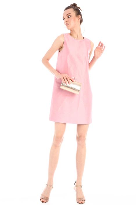 A-line shantung dress Intrend