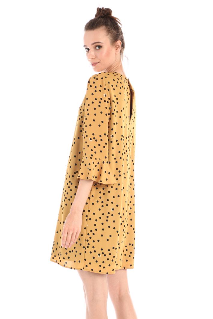Short satin dress Intrend
