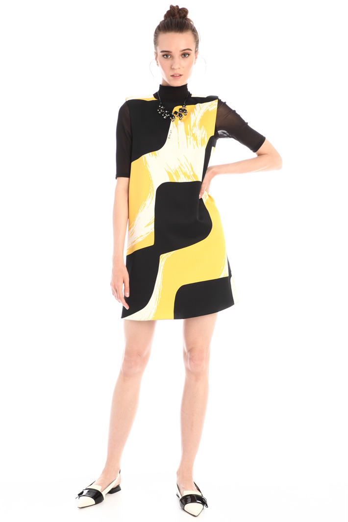 Short A-line dress Intrend
