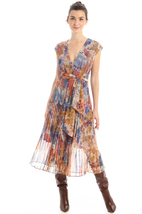Patterned dress Intrend