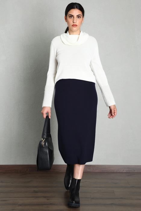 Straight wool skirt Intrend