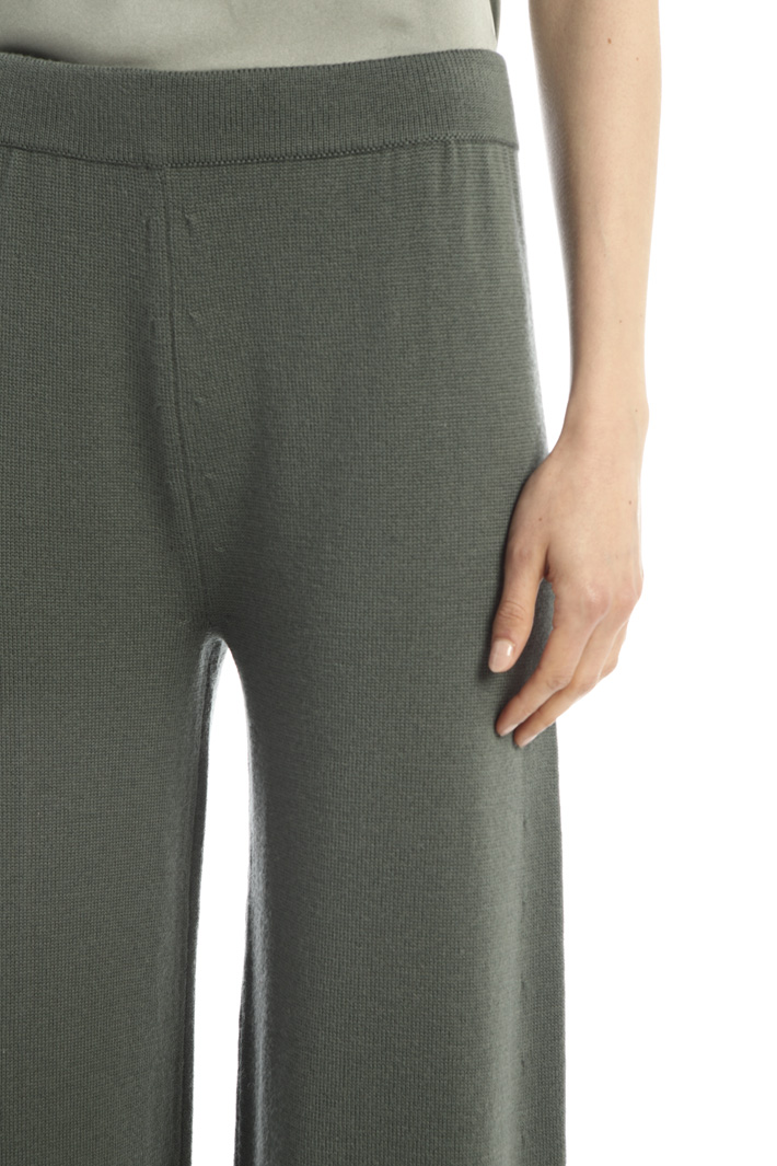 Wool knit trousers Intrend