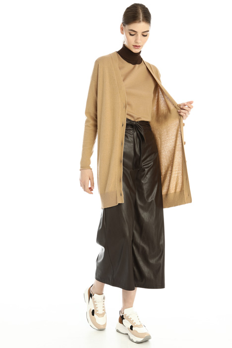 Long cashmere blend cardigan Intrend