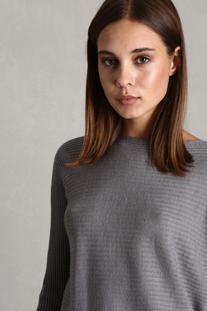 Ribbed wool sweater Intrend