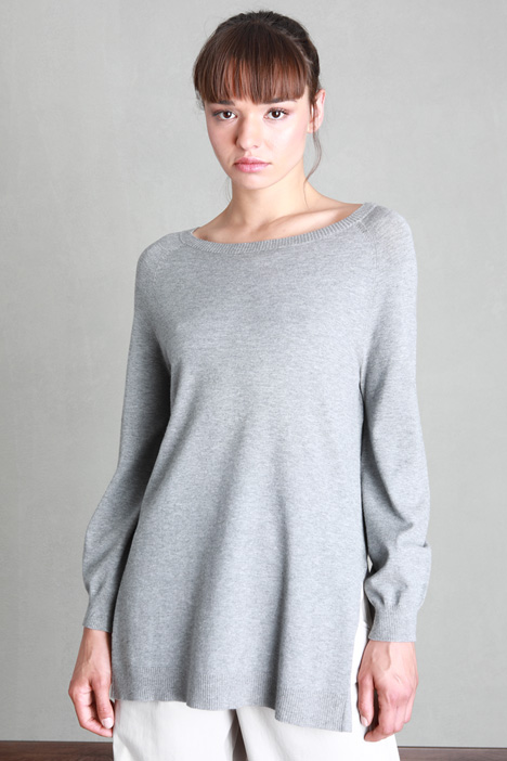 Long sweater with slits Intrend