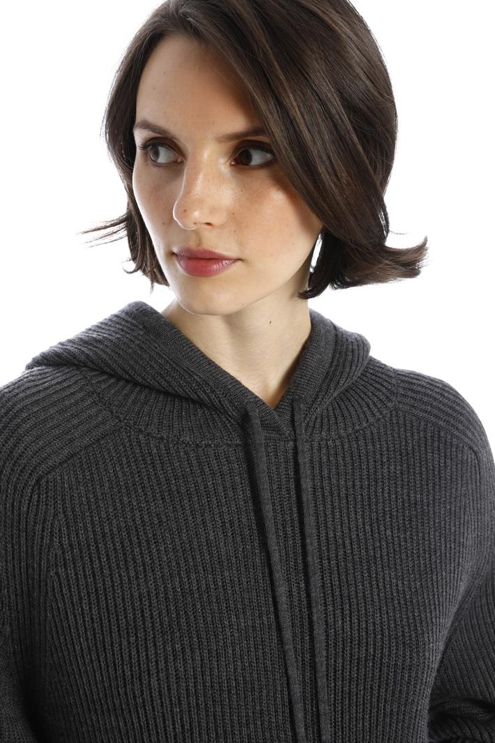 Wool knit sweatshirt Intrend