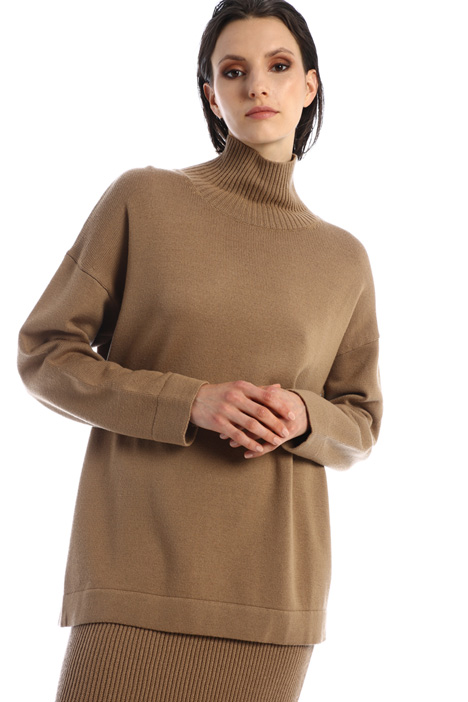 Wool knit sweater Intrend