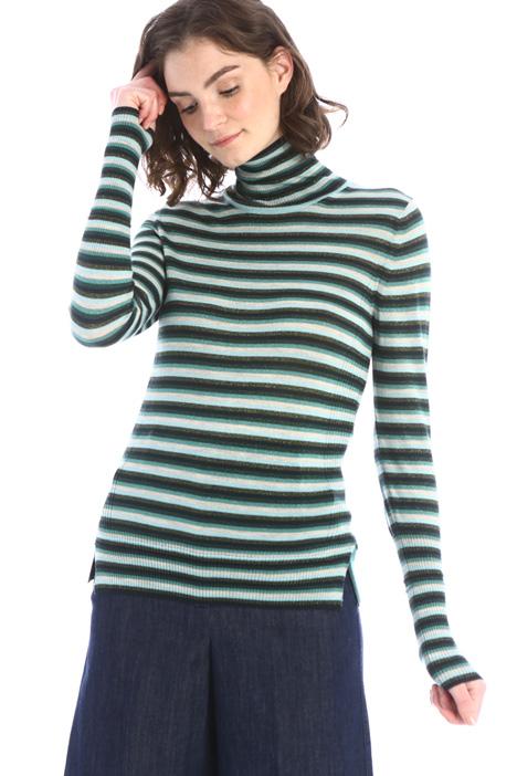 Lurex wool turtleneck Intrend