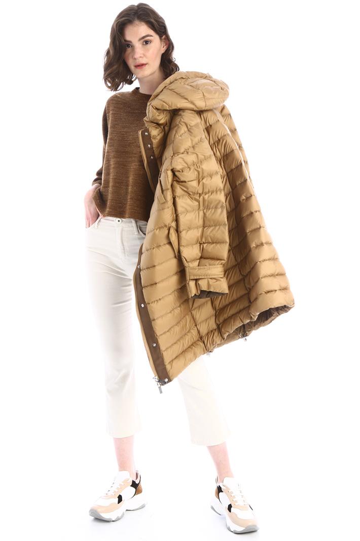 Boxy fit lurex sweater Intrend