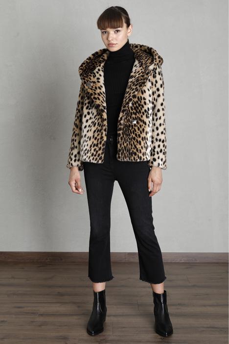 Faux fur jacket Intrend