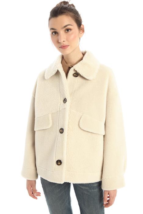 Faux-sherling jacket Intrend