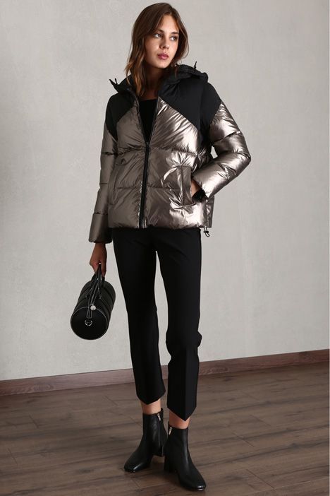 Quilted laminated jacket Intrend