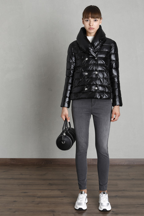 Double-breasted puffer jacket Intrend