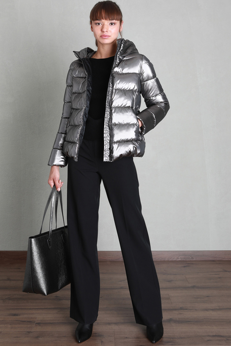 Laminated padded jacket Intrend