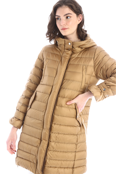 Long fitted down coat Intrend